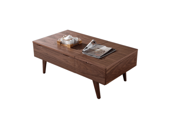 Marrone Coffee Table - Cherry Oak display