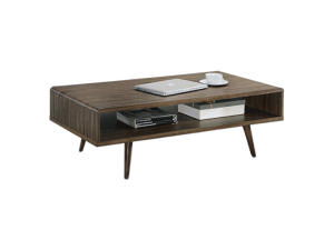 Legna Regular Coffee Table - Wenge Oak display
