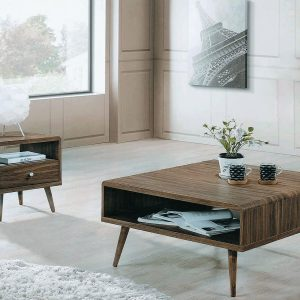 Legna Coffee Table Set - Wenge Oak display