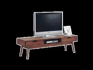 Ricco ASW TV Console - Rustic Espresso display