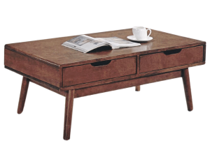 Ricco ASW Coffee Table - Rustic Espresso display