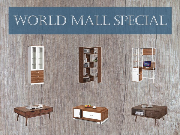 world mall monthly special banner