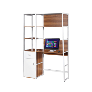 Bianca Work Top Book Case - White Oak display