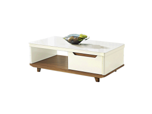Bianca GT Coffee Table - Gloss Glass display