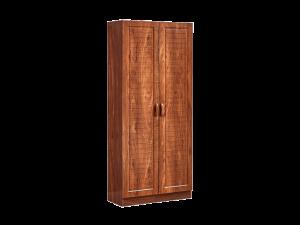 Veccuola Alto in Brown Shoe Cabinet - Irido Maple display